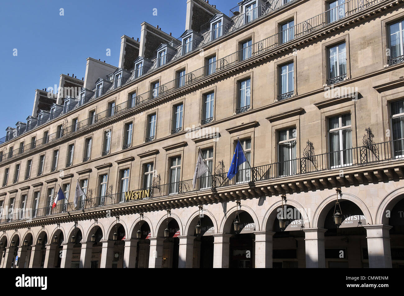The Westin Paris Hotel Paris France Stock Photo 47274240