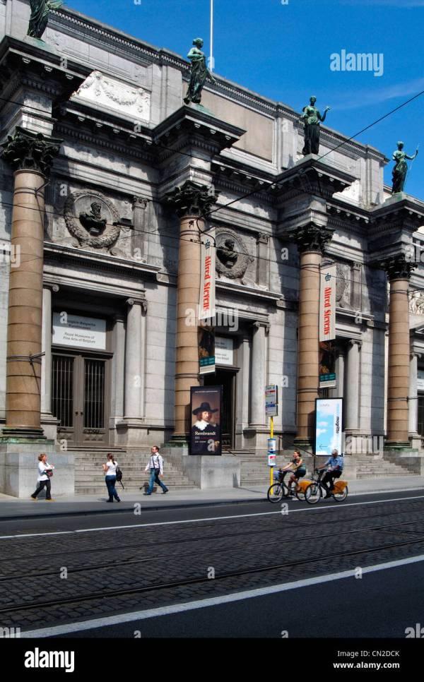 Royal Museum Of Fine Arts Belgium Stock &
