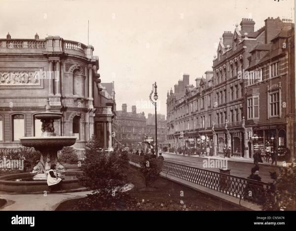Lichfield Street Wolverhampton 1900-1910 Stock Royalty Free 47446312 - Alamy