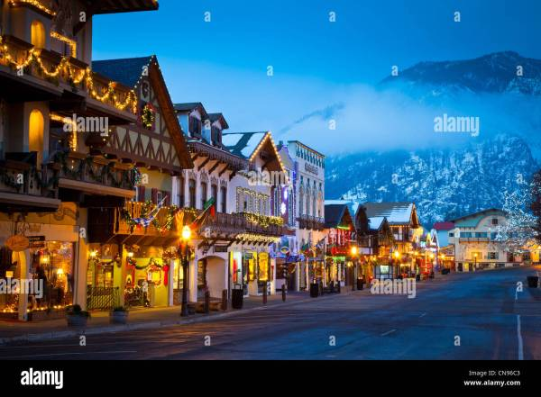 leavenworth washington christmas town