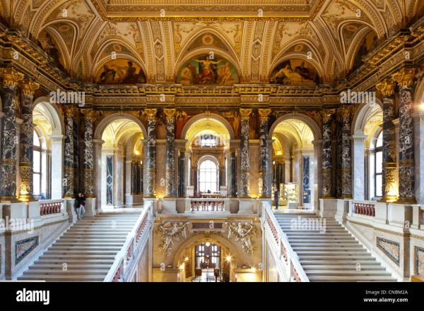 Austria Vienna Ring Kunsthistorisches Museum Built In 1891 Carl Stock Royalty Free