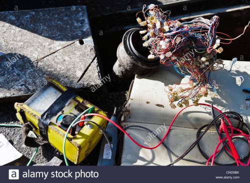 small resolution of engineering test meter looking for a fault on underground telephone wires uk telephone cable