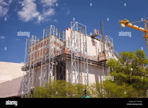 Washington Dc Usa - National Of Art Renovation