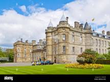 Holyrood Palace Royal Residence Edinburgh Scotland Uk Gb