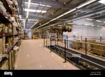 Mezzanine Floors In Warehouse Stock 47850892 - Alamy