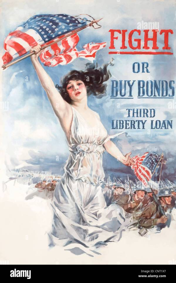 Wwi Poster American Stock &