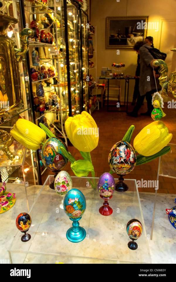 Paris Gift Shop Displays