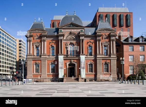Renwick Washington . Usa Architects James Stock 47987191 - Alamy