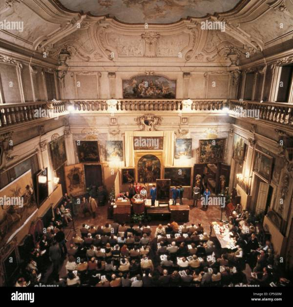 Sothebys Auction London Stock &