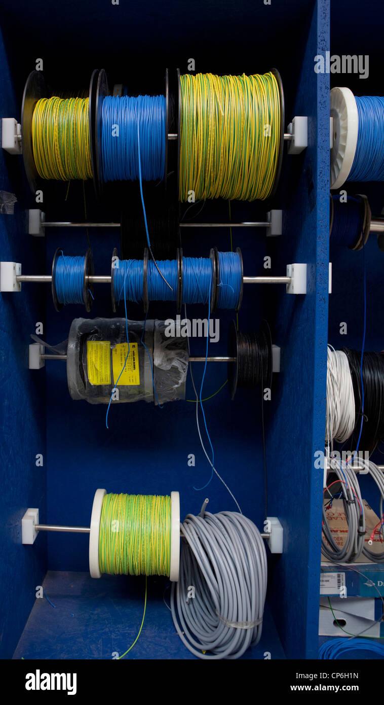 medium resolution of crazy wires stock photos crazy wires stock images alamy factory wires stock shel stock image