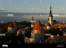 Baltic States Of Estonia Stock &
