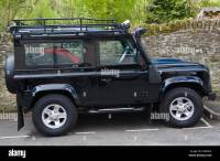 Black Land Rover Defender 90 2.4TDCi 4x4 with safari ...