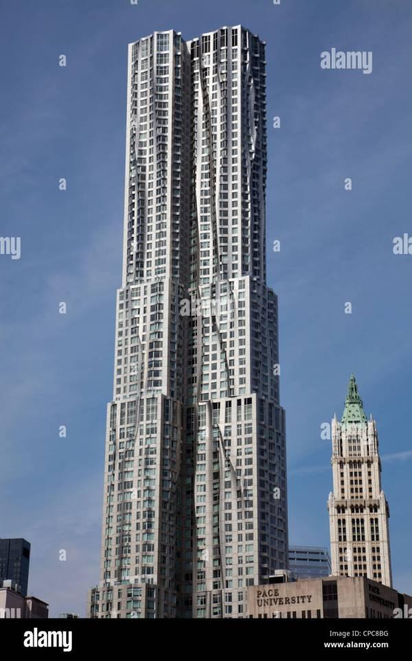 York Gehry Building 8 Spruce Street In Manhattan