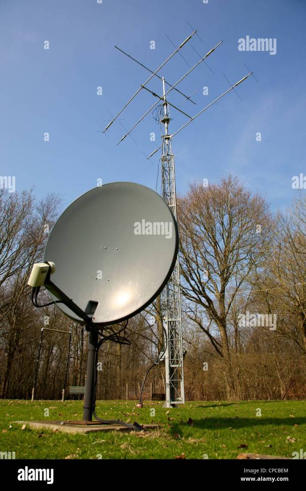 Ham Radio Satellite Antenna