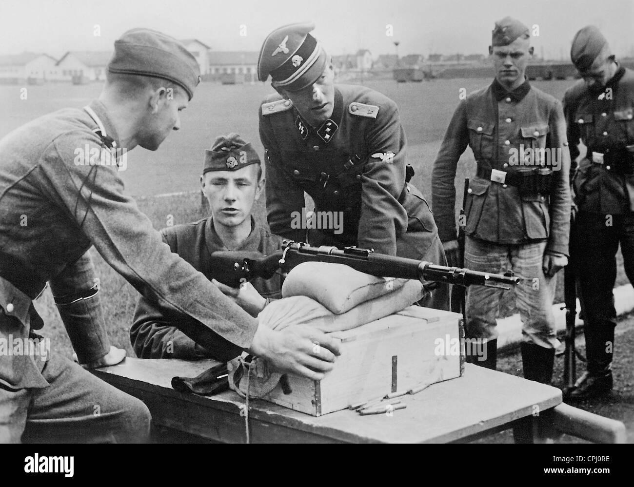 Belgian Volunteers Of The Waffen SS, 1942 Stock Photo