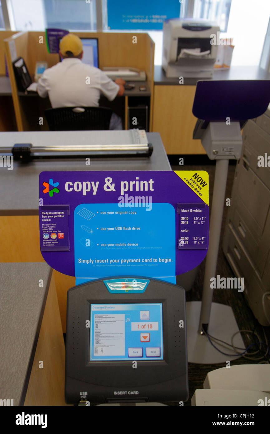 self service printing stock