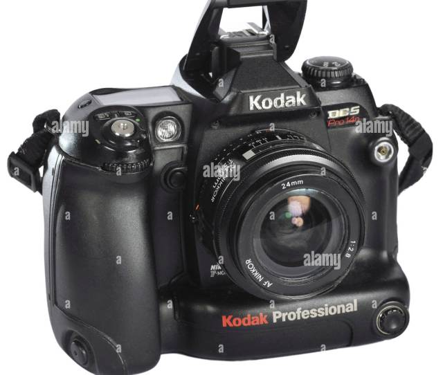 Photography Cameras Kodak Dcs Pro 14n Digital Reflex Camera Digital Camera 13 9 Megapixel Integrated Thunderbolt Here Folded Out Connection For