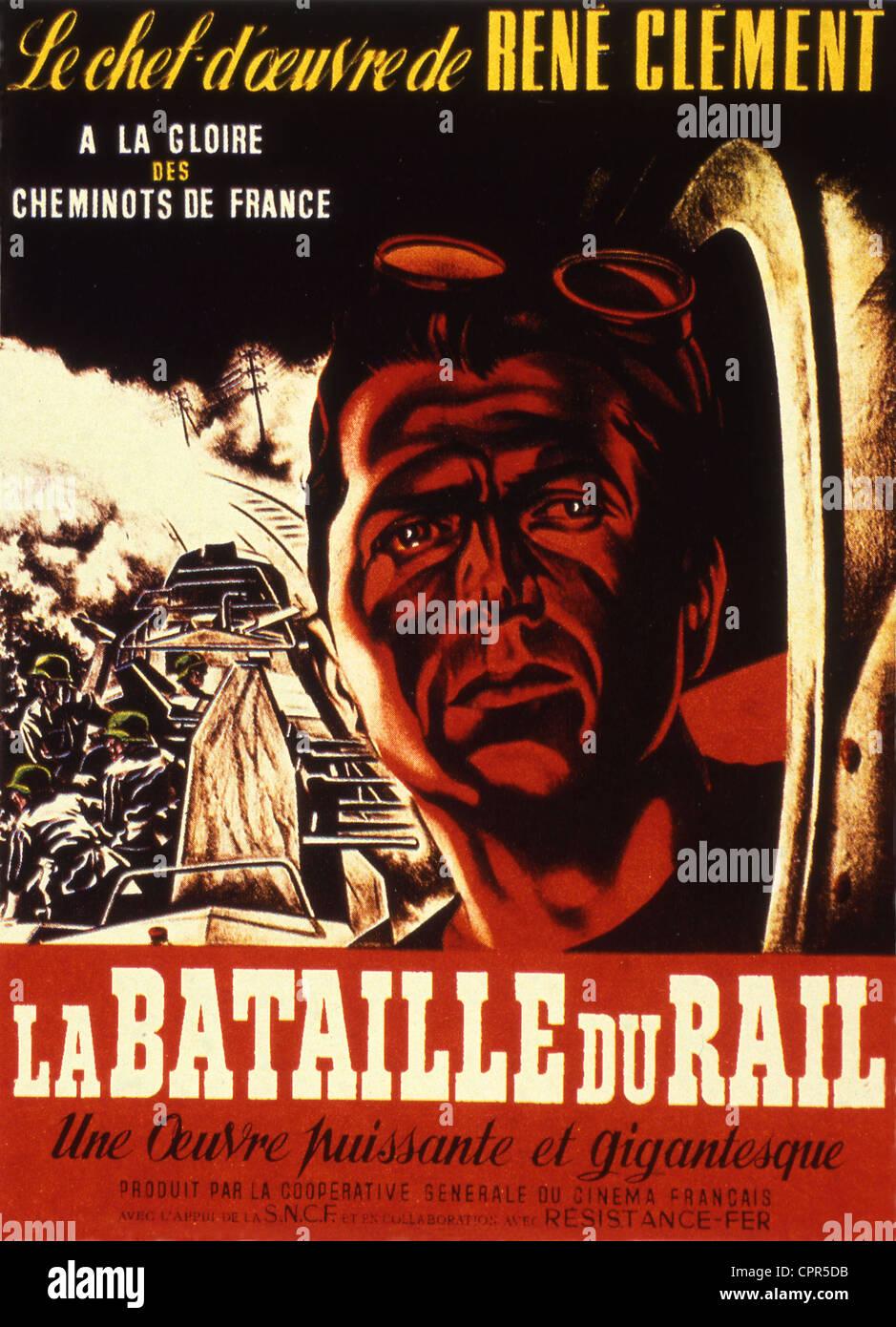 Film La Bataille Du Rail : bataille, Bataille, Stock, Photo, Alamy