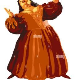 an opera singer stock image [ 971 x 1390 Pixel ]