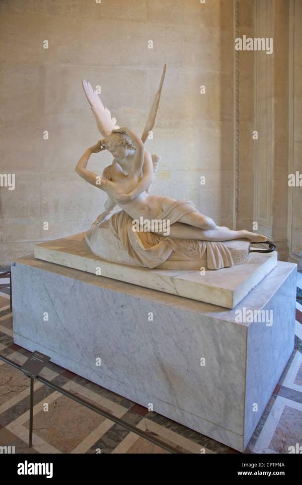 Sculpture Antonio Canova Stock & - Alamy
