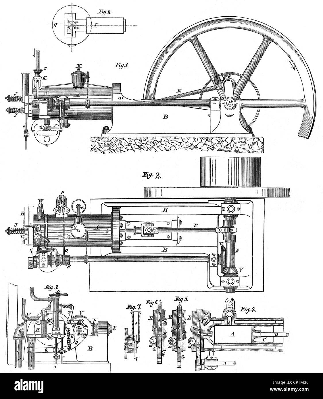 hight resolution of otto nicolaus august 14 6 1832 26 1 1891 german engineer