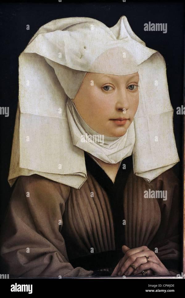 Gothic Art. Flanders. Rogier Van Der Weyden. Portrait Of