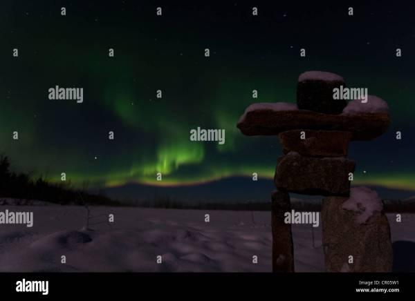 Inukshuk Stock & - Alamy