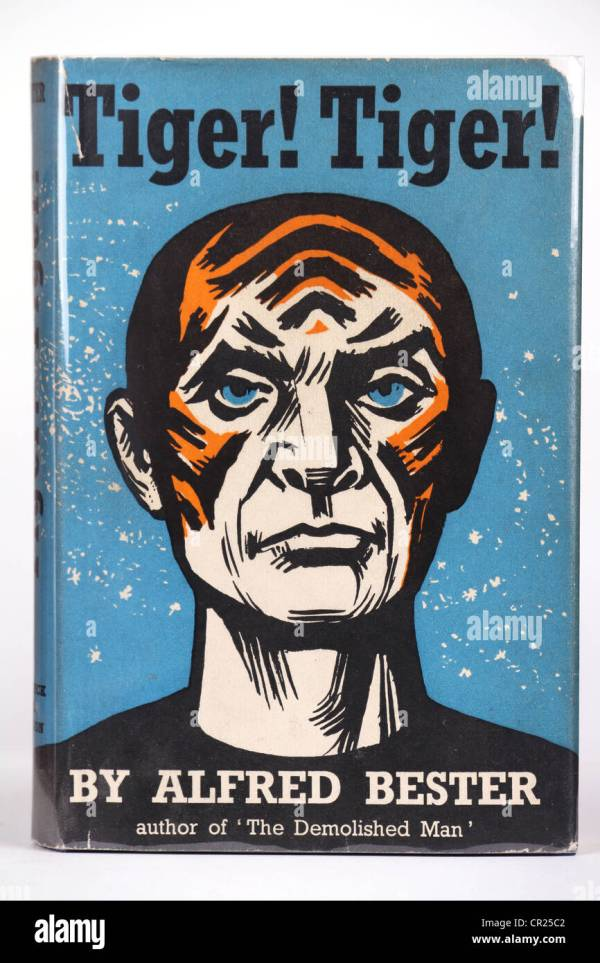 Tiger Tiger Book Cover by Alfred Bester Science Fiction