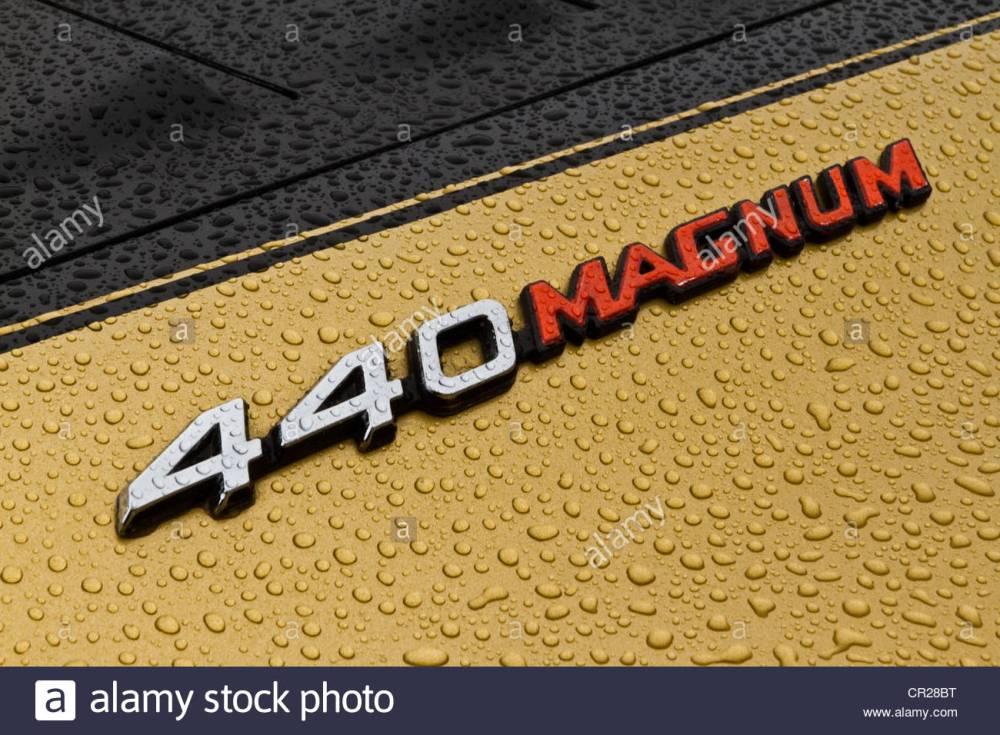 medium resolution of dodge charger 440 magnum emblem stock image