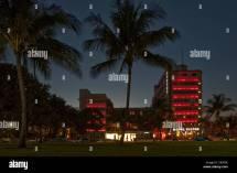 Miami Hotel View Stock &