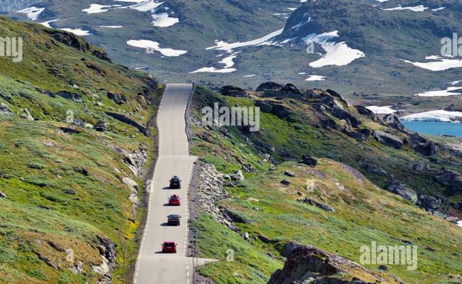 Tourist Road 55 Sognefjellet Norway Scandinavia Europe