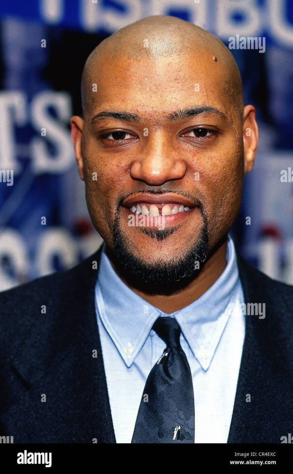 Fishburne Laurence Larry 30.7.1961 Actor Portrait 1991 Stock Royalty Free