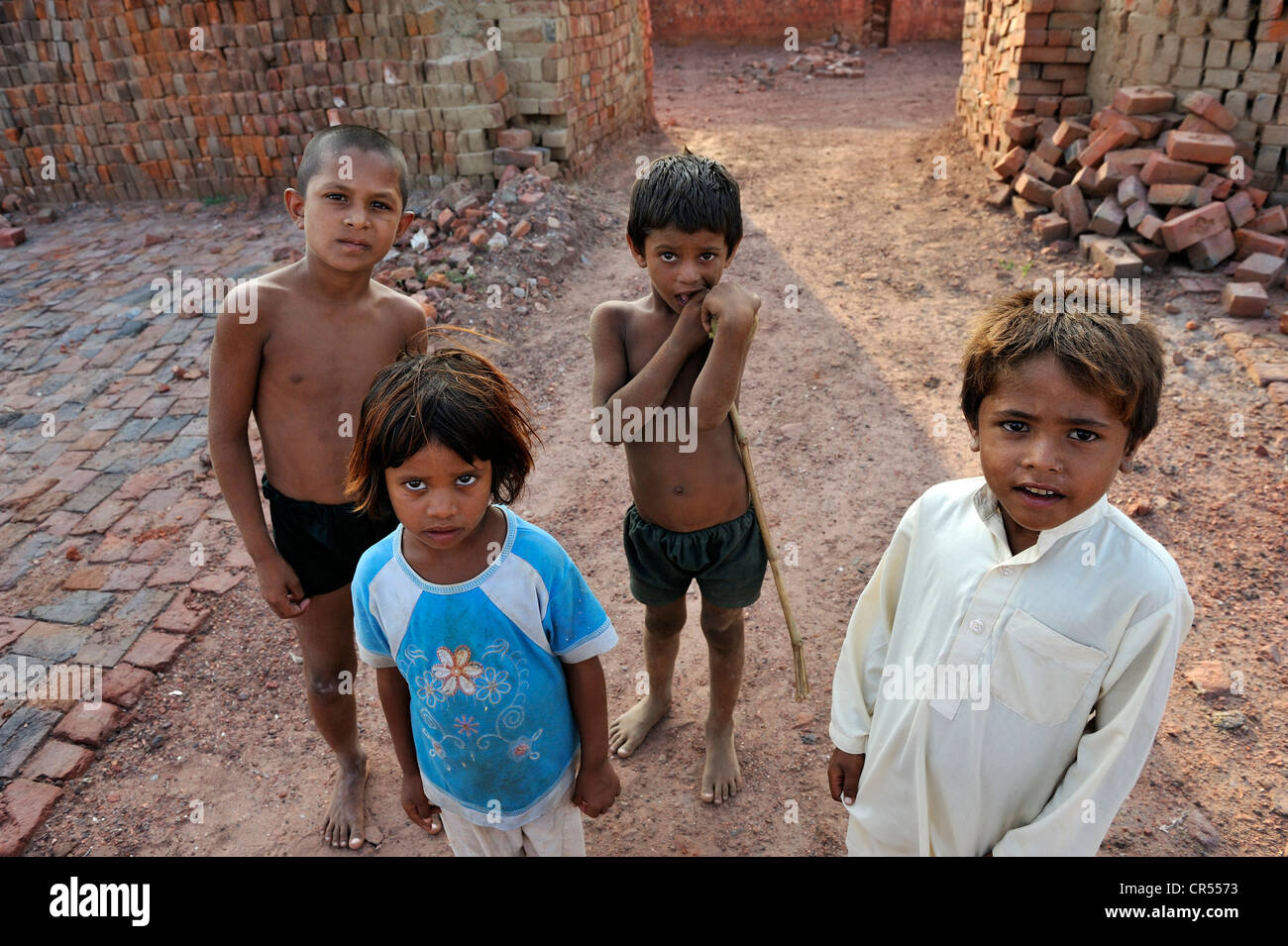 Children Who Live With Their Families Under The Slavery