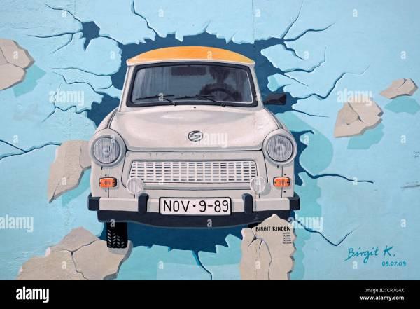 Test Rest Trabant Breaking Berlin Wall