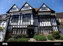 Old Tudor Style House