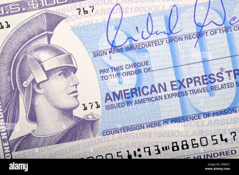 How Do American Express Travellers Cheques Work