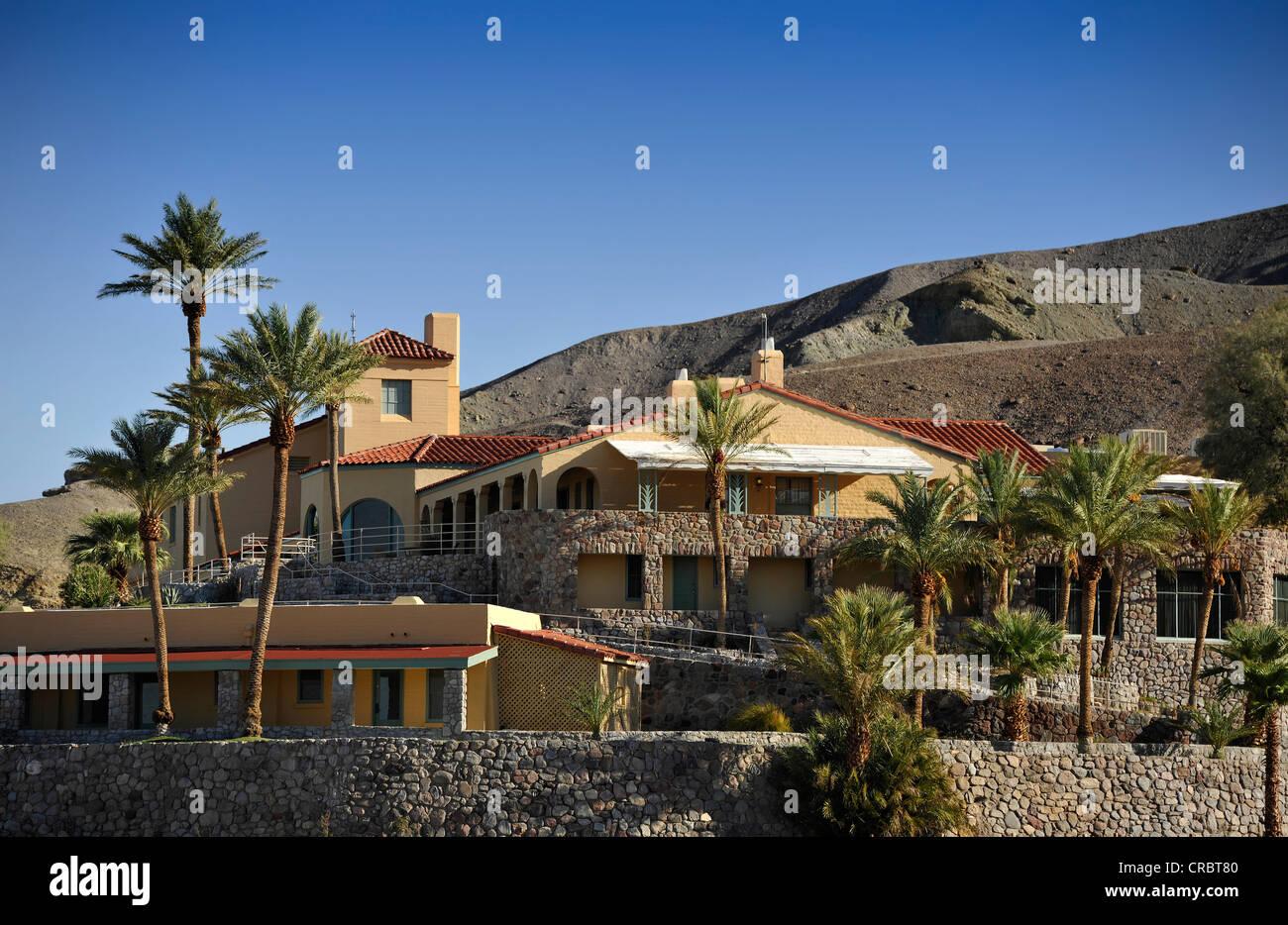 Furnace Creek Inn luxury resort, Death Valley National