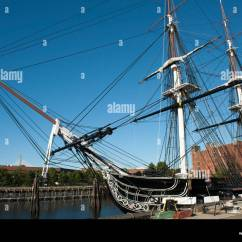 Uss Constitution Rigging Diagram How To Draw A Timing For Circuit Museum Ship Bow Masts Frigate U S Navy Charlestown Yard Freedom Trail Boston