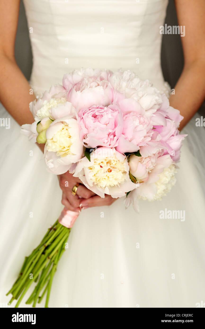 blooming bridal detail flowers