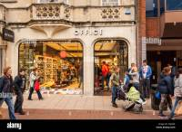 The Office shoe shop store in Ipswich , Suffolk , England ...