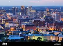 Downtown Birmingham Alabama Skyline