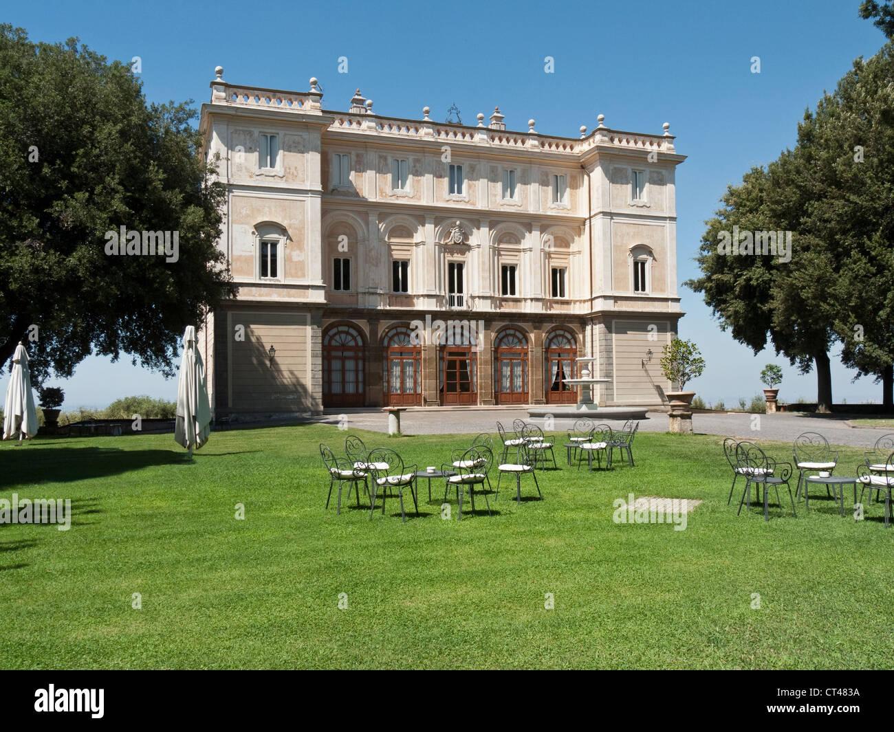 Park Hotel Villa Grazioli Grottaferrata Rome Italy Stock