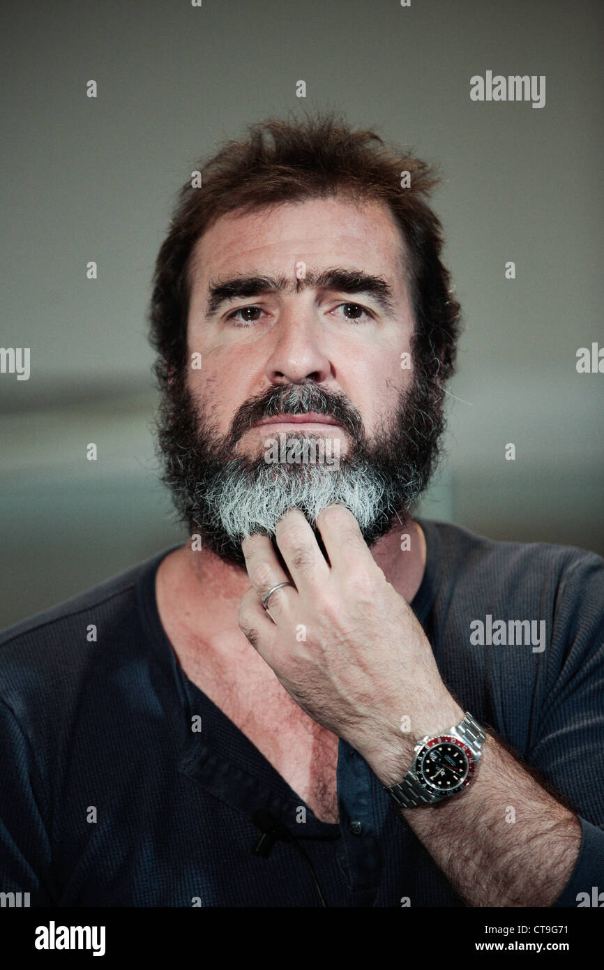 When he does it is bound to be. Eric Cantona Stock Photo Alamy