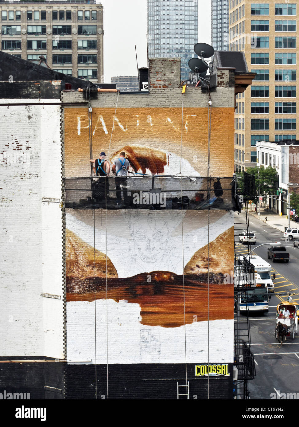 Painted Billboards : painted, billboards, Painted, Billboard, Resolution, Stock, Photography, Images, Alamy