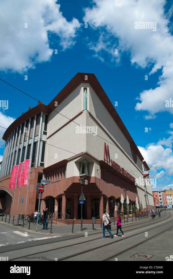 German Architecture Museum Frankfurt Stock &