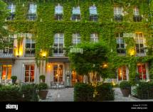"Paris France Garden Luxury Hotel ""le Pavillon"