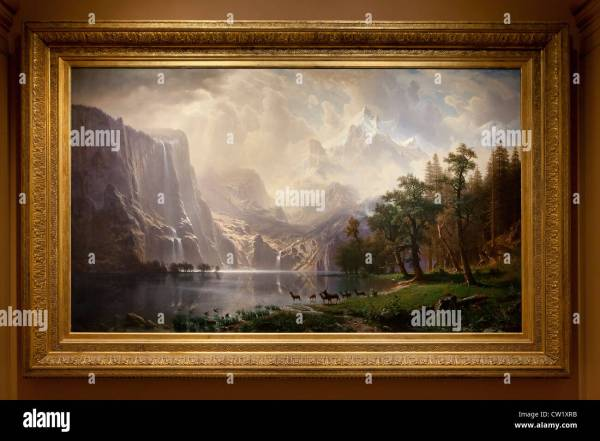 Bierstadt Stock & - Alamy