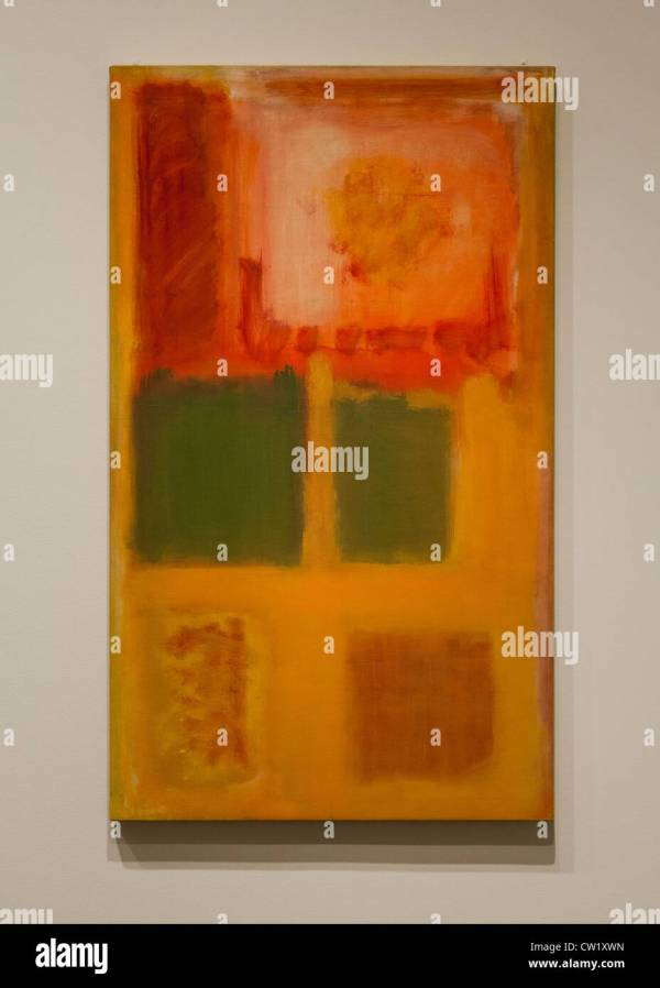 Abstract Painting Rothko Stock &