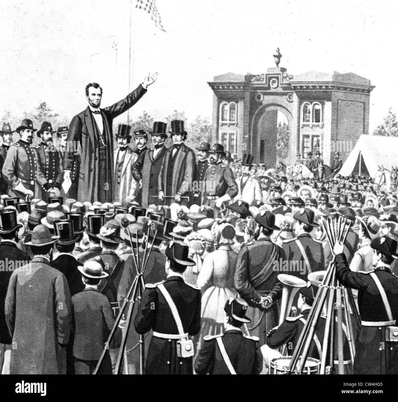 Lincoln Gettysburg Address Worksheet