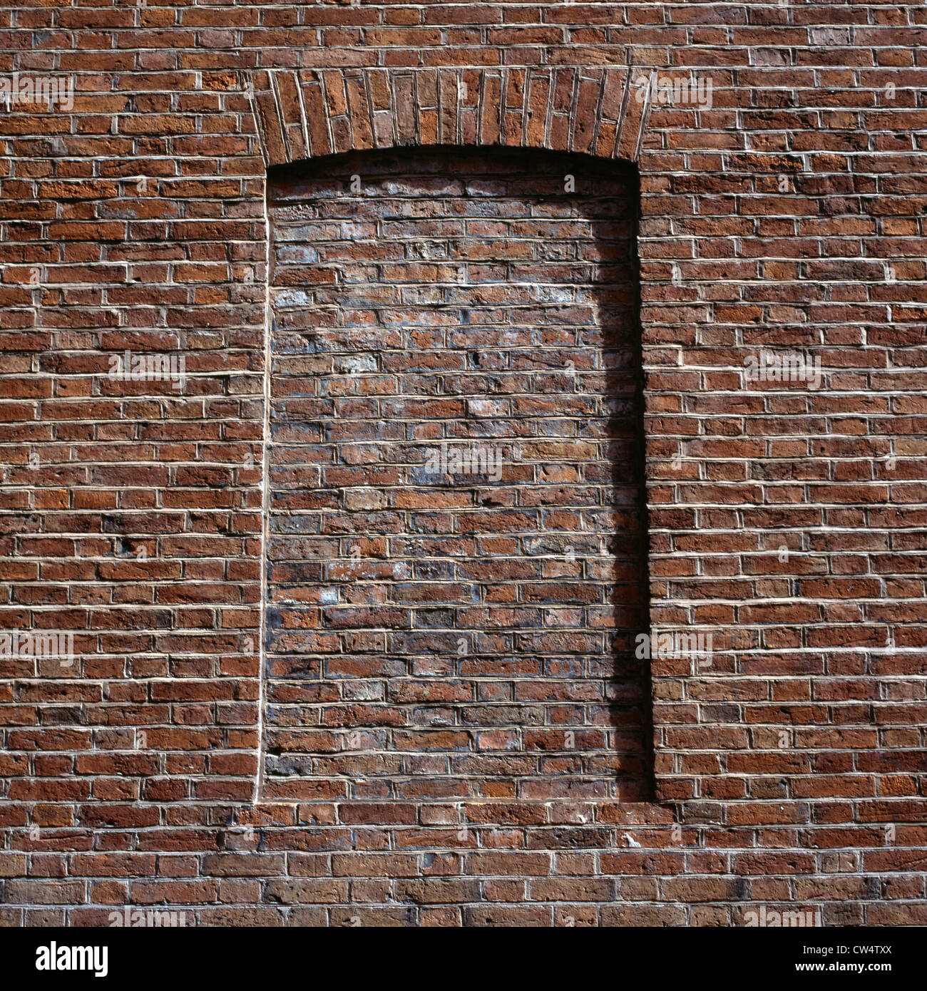 Brickedup window Stock Photo Royalty Free Image 49894514  Alamy